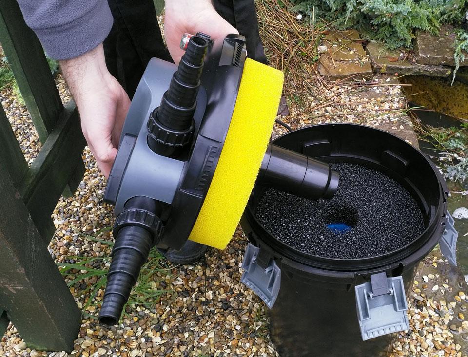 Pondkraft Pressurised Filter - Filter Foams