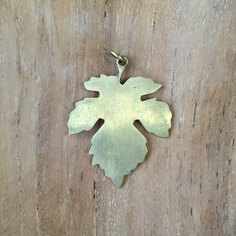 maple leaf charm, symbol jewelry