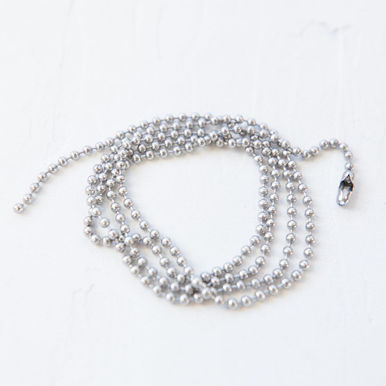 stainless steel ball chain, brass toned ball chain