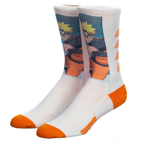 Naruto Graphic Sublimated Crew Socks