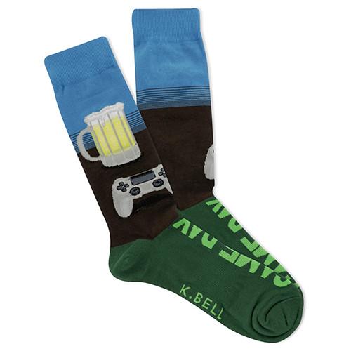 Gameday Beer Socks For Men