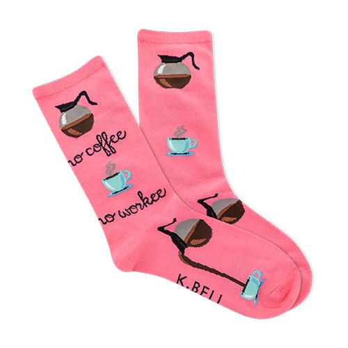 No Coffee No Workee Socks For Women