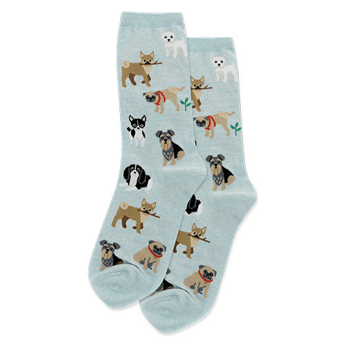 Who Let The Dogs Out Socks For Women