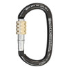 Screw Lock Ovalone Carbon Steel Carabiner
