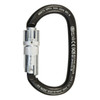 Triple Lock Ovalone Carbon Steel Carabiner