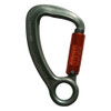 Triple Lock Aluminum Carabiner w/ Captive Eye