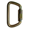 Triple Lock Large D Steel Carabiner