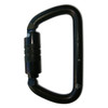 NFPA Large D Carabiner - Twist Lock (Black)