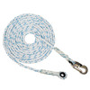 "5/8"" - 3 Strand Composite Vertical Lifeline - Hook & Thimble"
