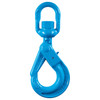 Grade 100 Swivel Self-Locking Hook