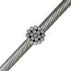1x19 | 304 Stainless Steel Wire Rope (Aircraft Cable)