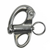 316 Stainless Steel Fixed Eye Snap Shackles