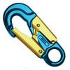 Forged Aluminum Snap Hook w/ Fixed Eye - Blue