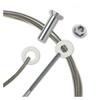 """1/8"""" - Standard Assembly for Metal Posts"""