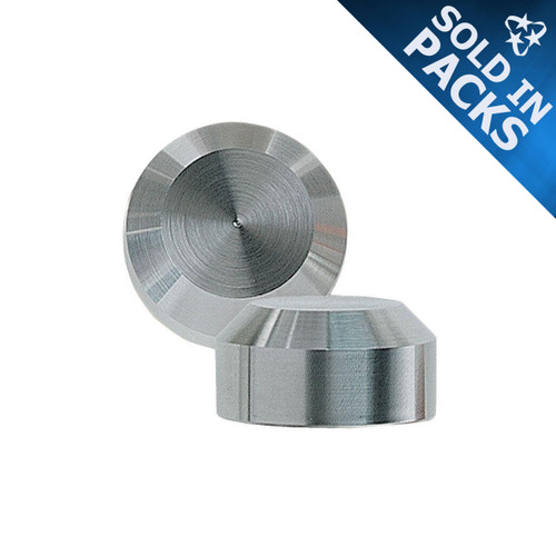 Stainless Steel Chamfer Style Decorative Caps