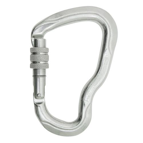 Screw Lock Ferrata Carabiner