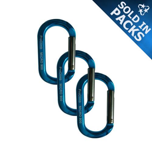 Micro 900 Carabiners - Blue