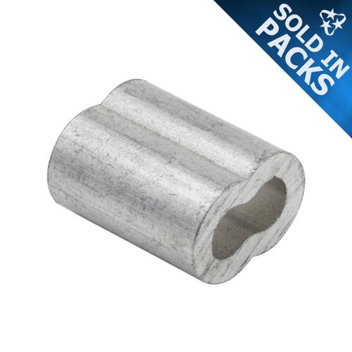 Aluminum Duplex Sleeves - (SOLD IN PACKS)