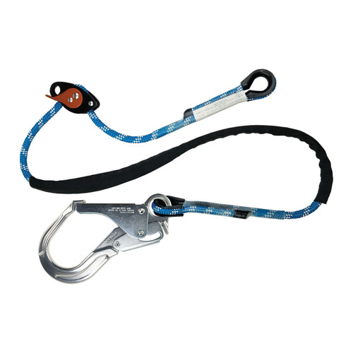E-Z Move™ Tower Positioning Lanyard w/ ANSI Aluminum Rebar Hook