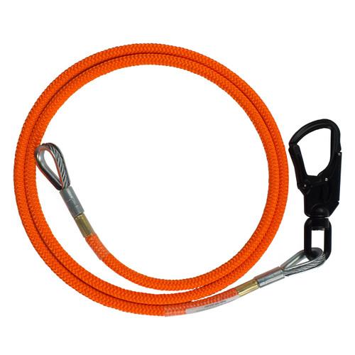 """5/8"""" - Wire Core Flip Line w/ Aluminum Swivel Eye"""