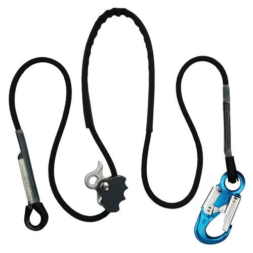 Better Grab 3 Positioning Lanyard w/ ANSI Aluminum Snap Hook