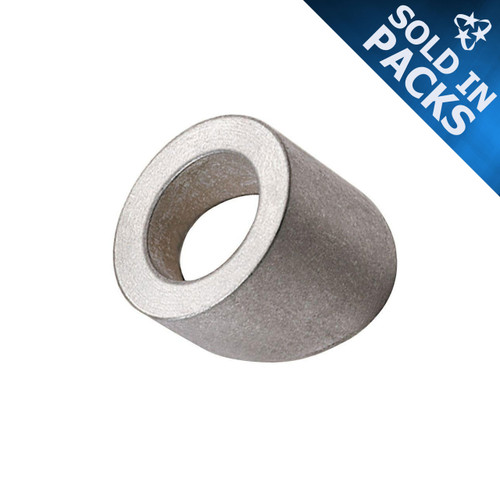 """316 Stainless Steel Beveled Washers for 1/8"""" Quick-Connect® or 1/4"""" Threaded Terminal"""