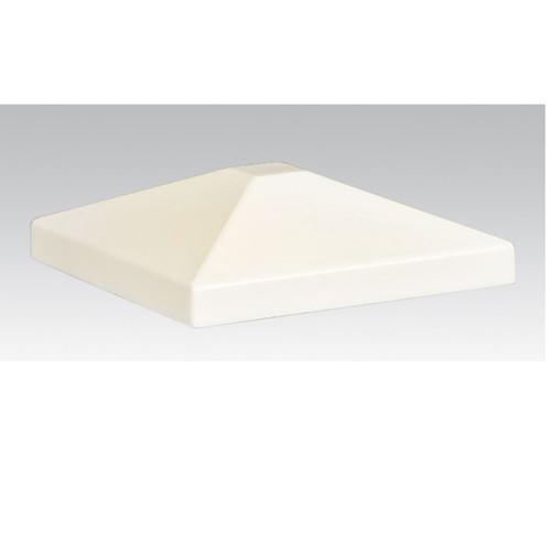 Aluminum Post Cap - White