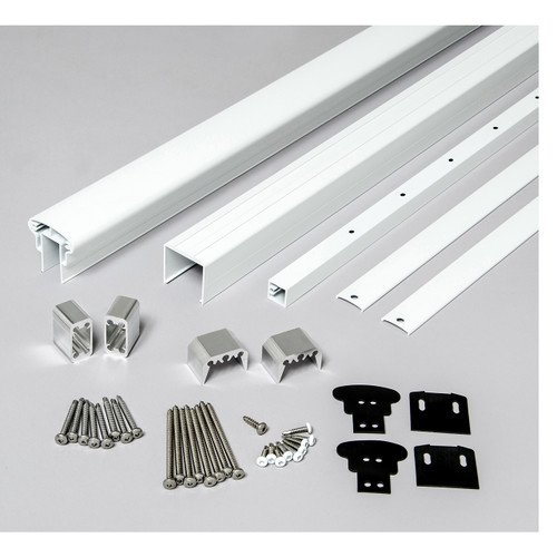 Rail Kit for Level Railings - White