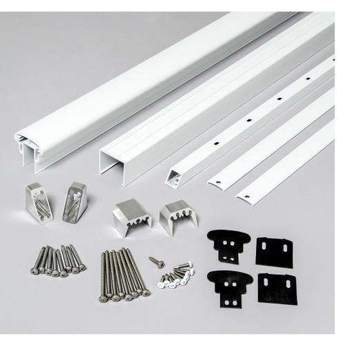 Rail Kit for Stair Railings - White
