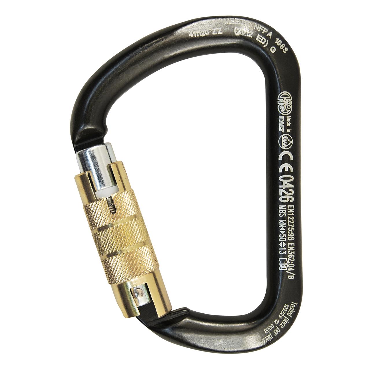 6fe456a3e42 X-Large Steel Twist Lock Carabiner