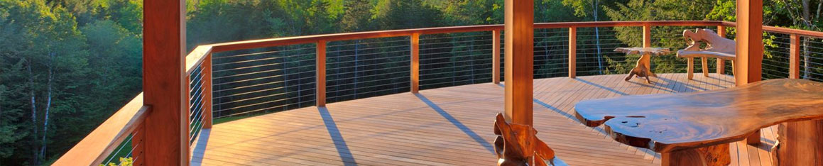 Cable rail systems for your home or office