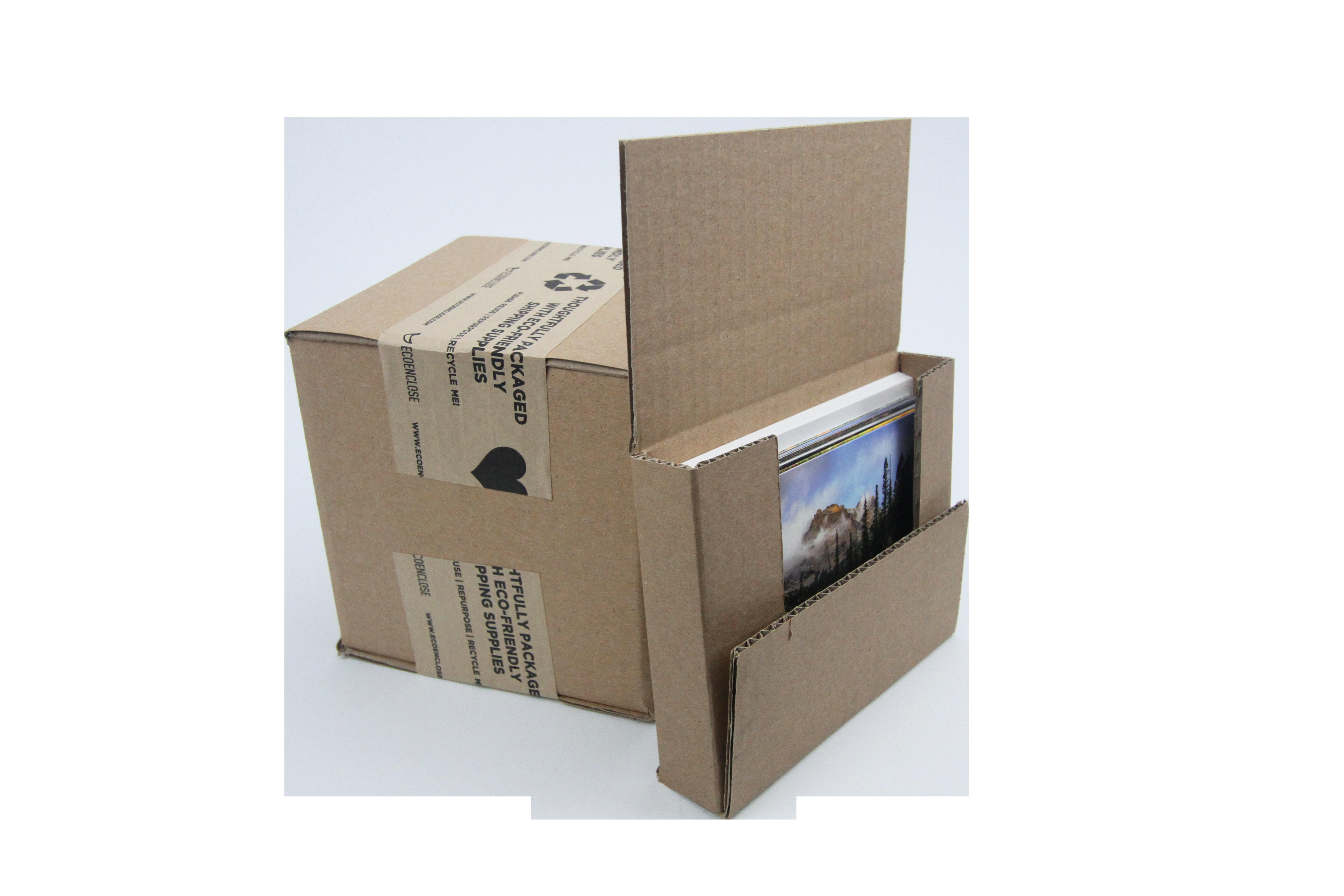 one panel fold corrugated box