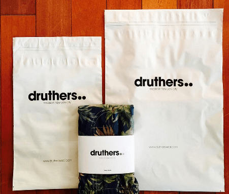 druthers e commerce packaging