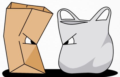 paper versus plastic