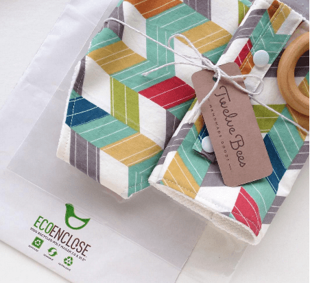 Twelve Bees sustainable ecommerce packaging