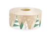 "Holiday Designed Water-Activated Tape - 2.75""x 450 ft - Kraft Paper Reinforced - Case of 10"