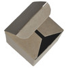 "3 x 3 x 4"" - 100% Recycled Tuck Boxes - Case of 500"