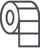 "4x2"" Rectangle Stickers - Rolls"