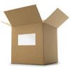 "Sample - 8.5"" x 5.5"" - Zero Waste White Shipping Label"