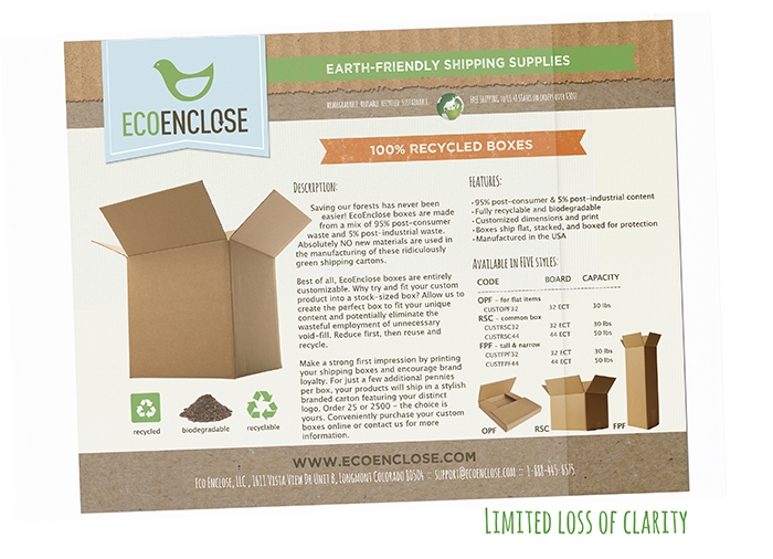"""7.5"""" x 10"""" - Recycled Flap & Seal Bag"""