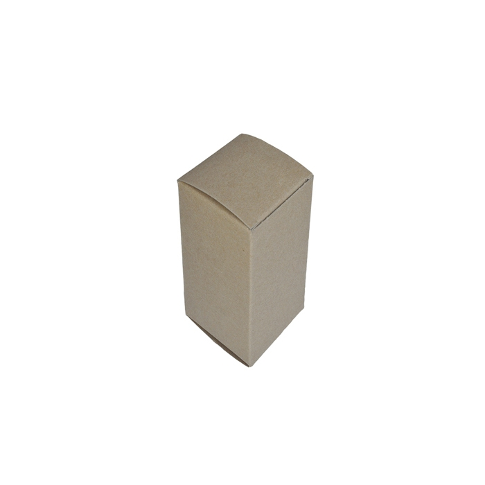 "1.5 x 1.5 x 3"" - 100% Recycled Tuck Boxes - Case of 500"