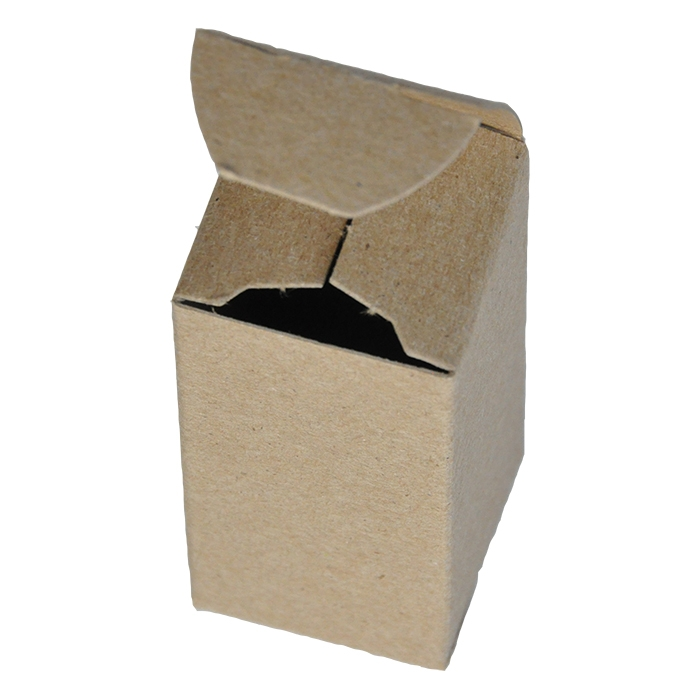 "2 x 2 x 4"" - 100% Recycled Tuck Boxes - Case of 1000"