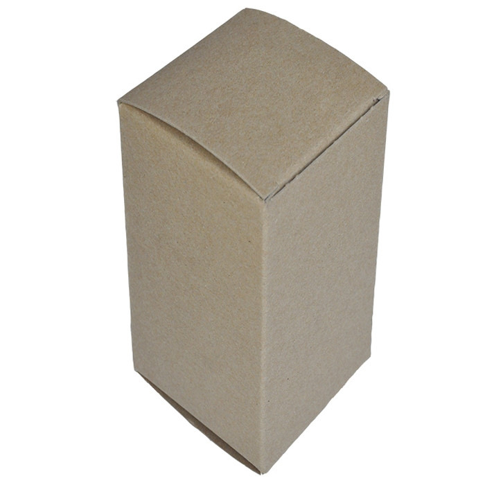 "3 x 3 x 6"" - 100% Recycled Tuck Boxes - Case of 250"