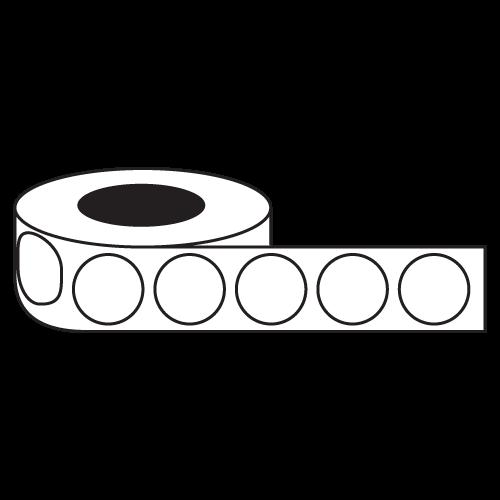 "4"" Circle Stickers - Rolls"