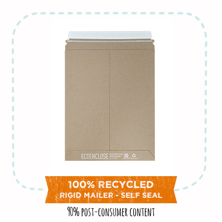 100% Recycled Rigid Mailers