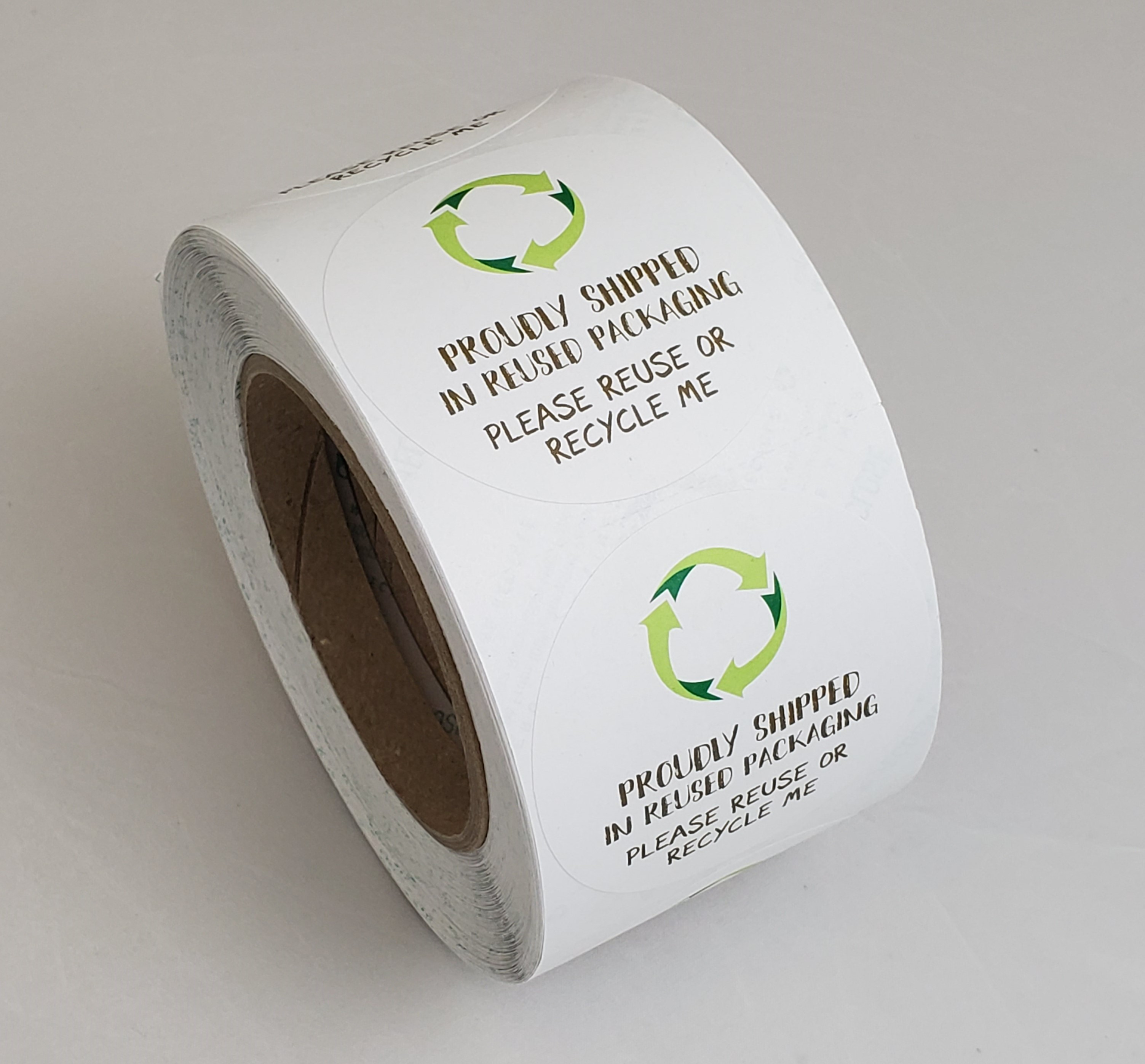Proudly shipped paper roll jpg