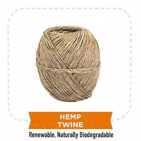 Renewable Hemp Twine