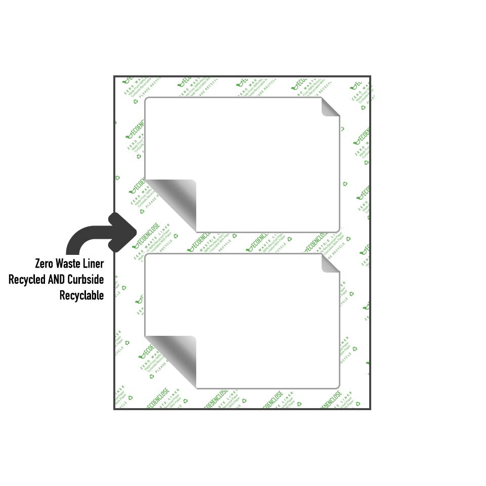 recycled recyclable release liner
