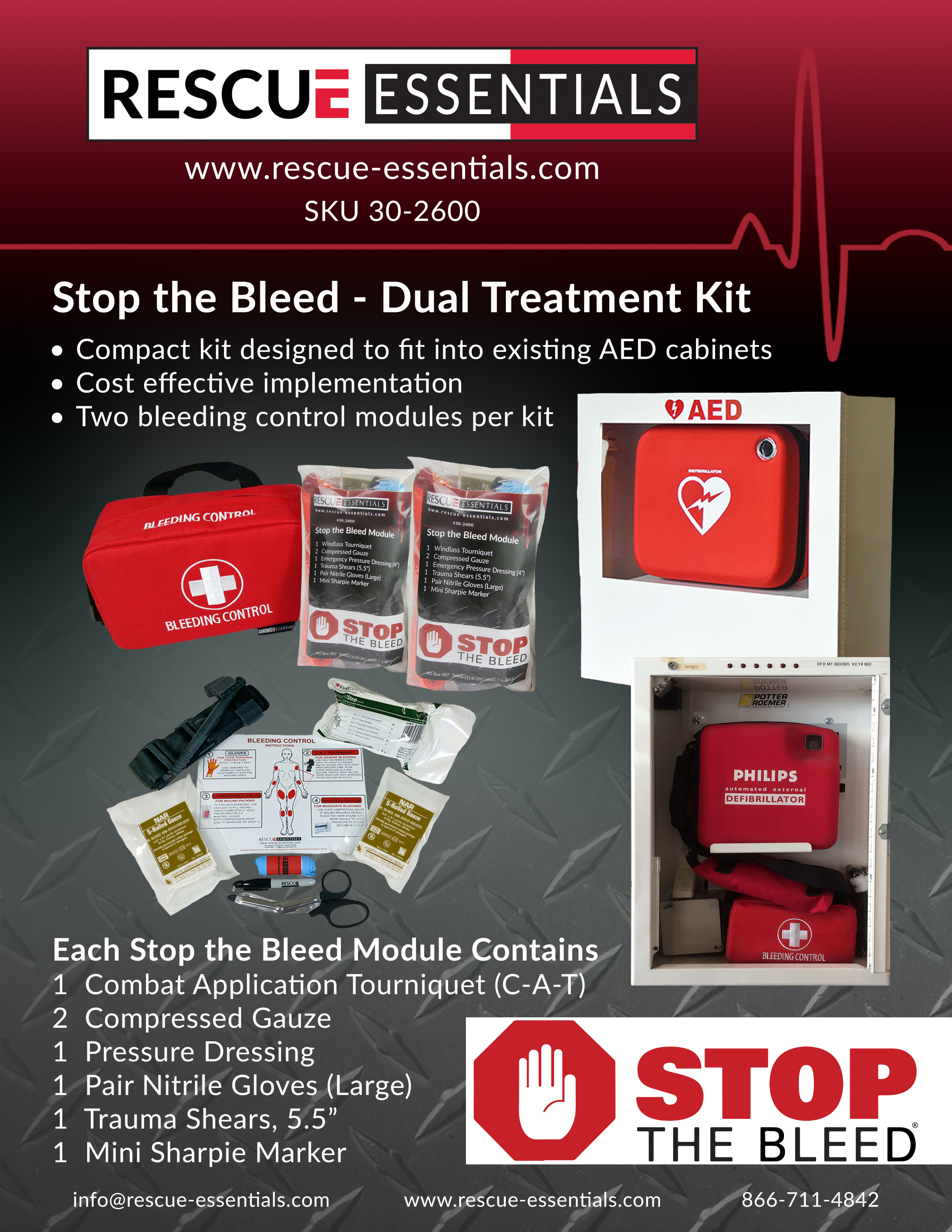 Stop the Bleed Kit Flyer