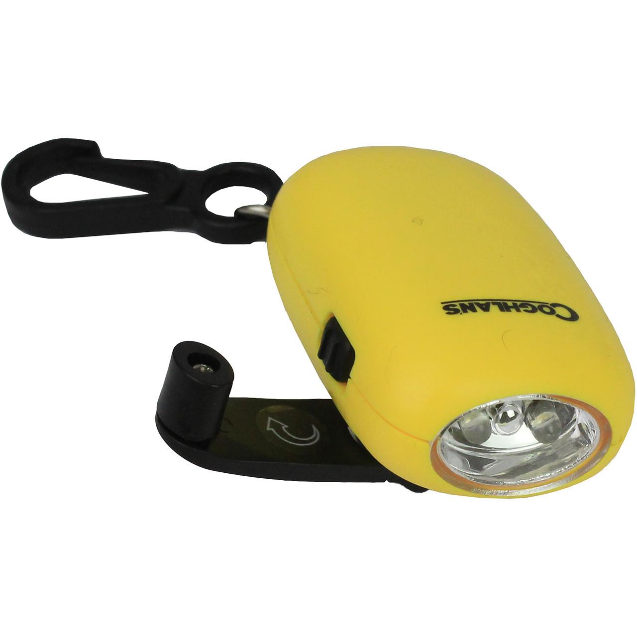 Dynamo Hand Crank Flashlight